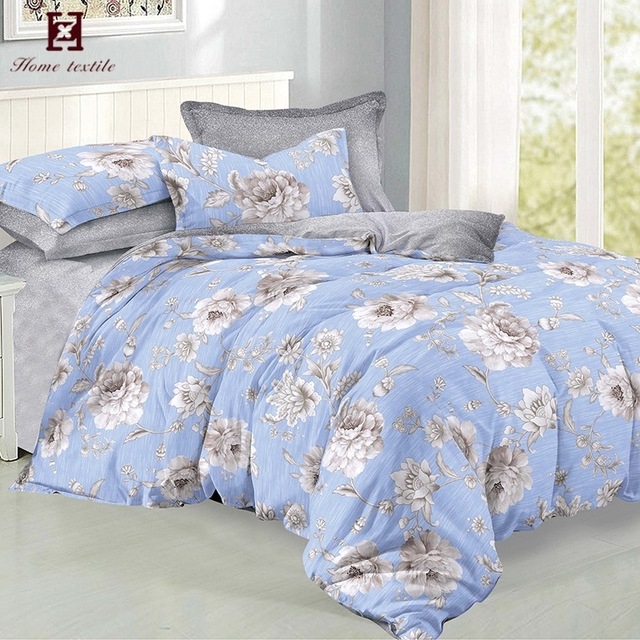 Custom Designs Microfiber Brushed Polyester Printed Textile Fabric For Bed Sheet Cover And Pillowcase