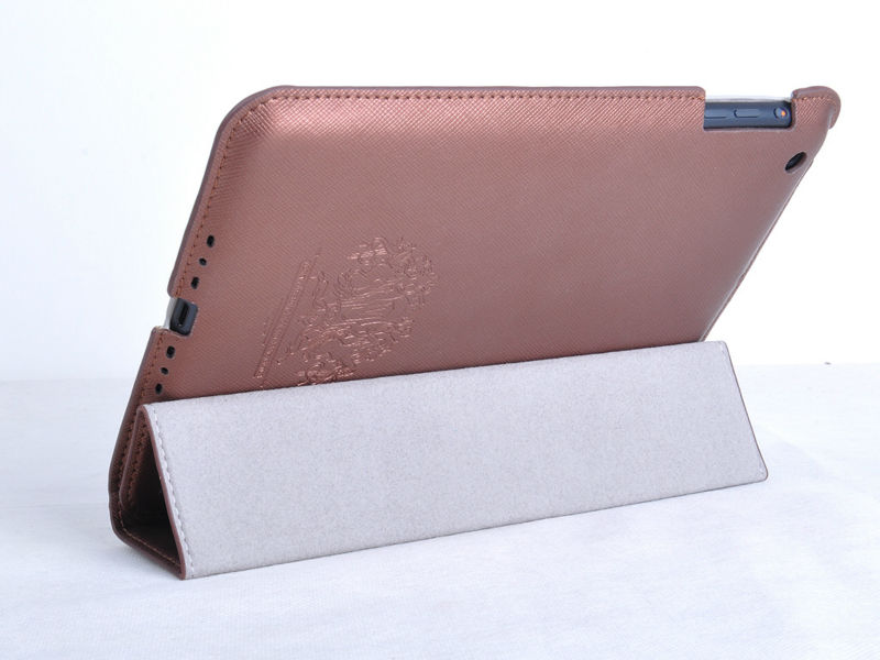 Genuine real leather case for new ipad mini high quality covers