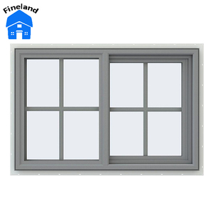 Modern Japanese Window Global Glaze New Product Sliding Windows With Grills Design