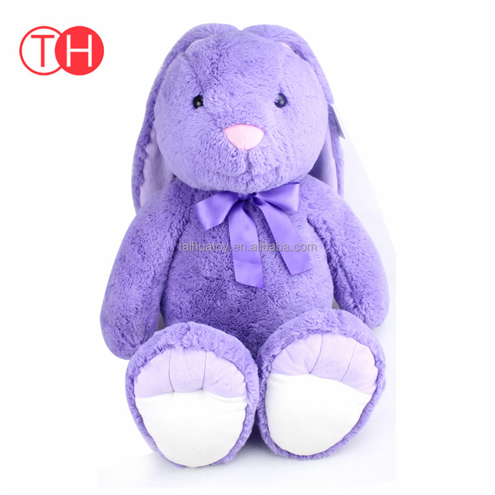 OEM wholesale stuffed animal soft cute rabbit custom minion plush toy