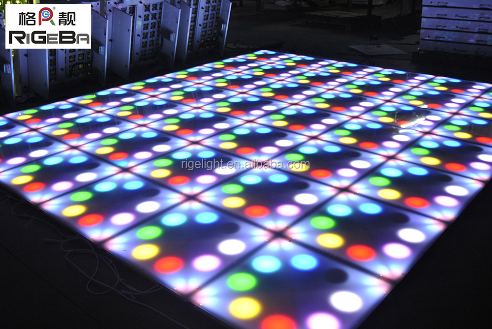 Dj Lighting Dmx Led Dance Floors For Wedding Decoration