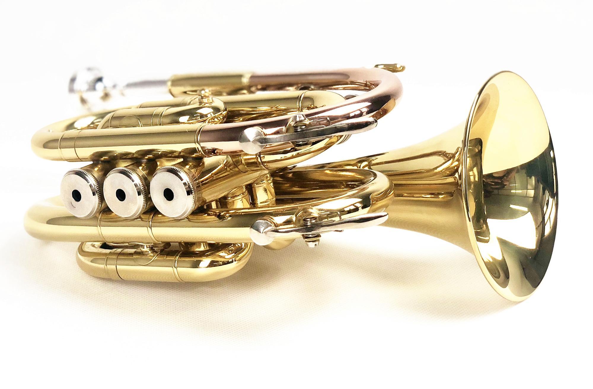 Personalizzato Popolare di Alta Qualità Pocket Trumpet FPT-200L