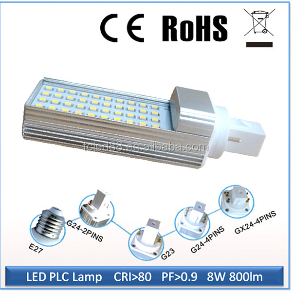 Good quality high lumen hot selling 1200lm g24d led