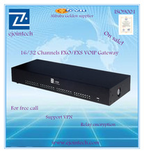 32 ports FXS/FXO Gateway VoIP ACOM232 which convert PSTN to SIP asterisk fxo
