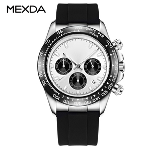 High Quality Revolving Bezel Multifunction Men Watch