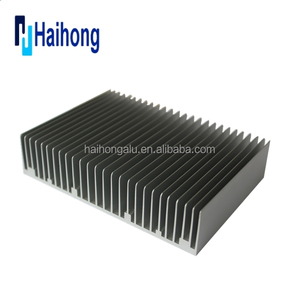 Customized extruded aluminum heat sink for LED