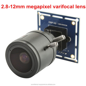 ELP 1MP Mini 1080p 2.8-12mm varifocal lens USB 2.0 Camera Module 720p free driver hd webcam