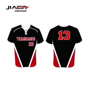 buy popular 78d5e 9c1ea Jiaensports arrivals Custom Softball Black Baseball Jersey, Youth Baseball  Uniforms cheap price custom printing baseball jerseys