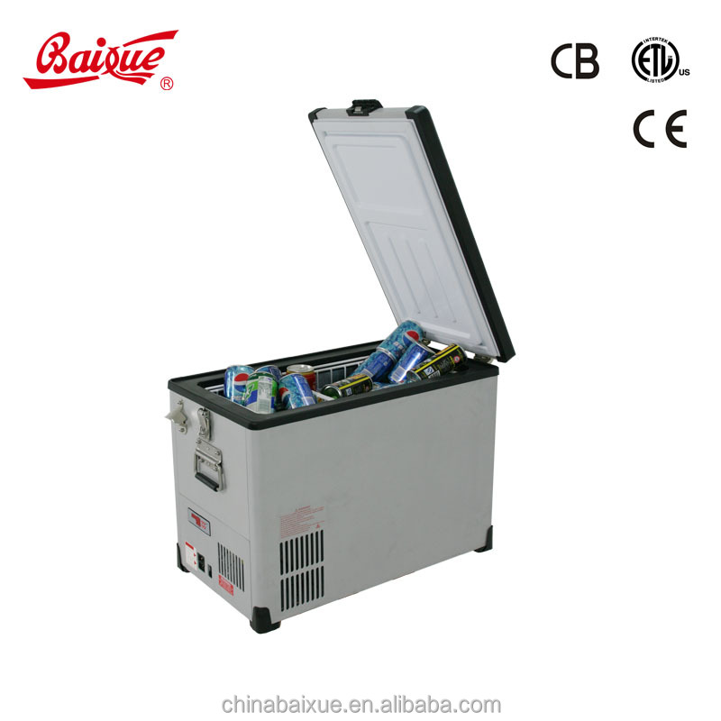 42L ACDC outdoor solar potable mobile car freezer/camping freezer/RV freezer Freezer & Fridge