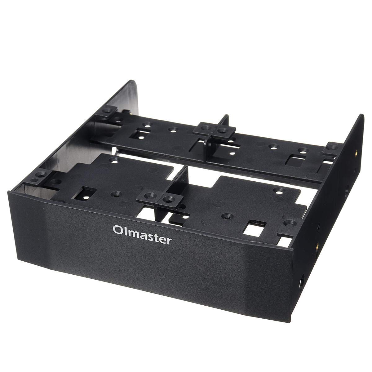 "5.25"" to 3.5"" Optical Drive Bay HDD Hard Drive Mounting Bracket Converter - Computer Components Optical Drives - 1 Hard Drive Conversion Rack, 3 Screws Pack"