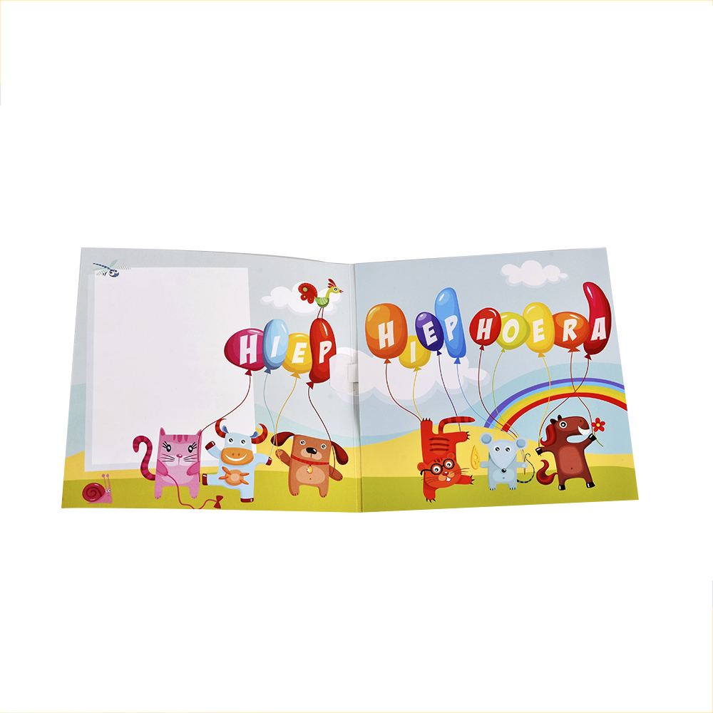 Custom Talking Voice Recorder Greeting Card With Music ...