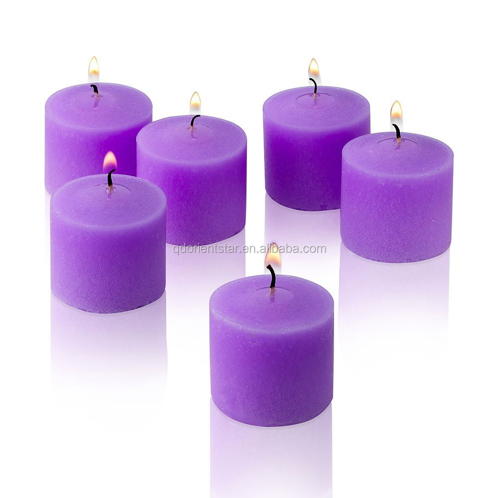 Hot Sale Pure Soy Wax Votive Scented Candles With Wedding ...