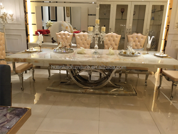 Dinning Room Furniture Set Marble Top Dining Table Designs In Italy