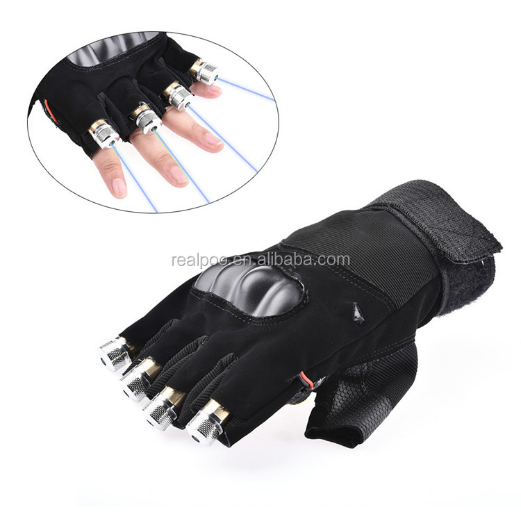 High quality laser gloves for stage, party