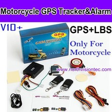 Motor GPS Tracker/Quad band GSM network, global use /Support 12V motorcycle