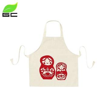 Promotion Women PP Sex Patterned Printed Sexy Kitchen Painting Smock Apron For Childrens/Kids