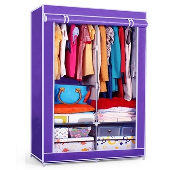 FS Cheap Cartoon Wardrobes Student Bedroom Closets Home Furniture