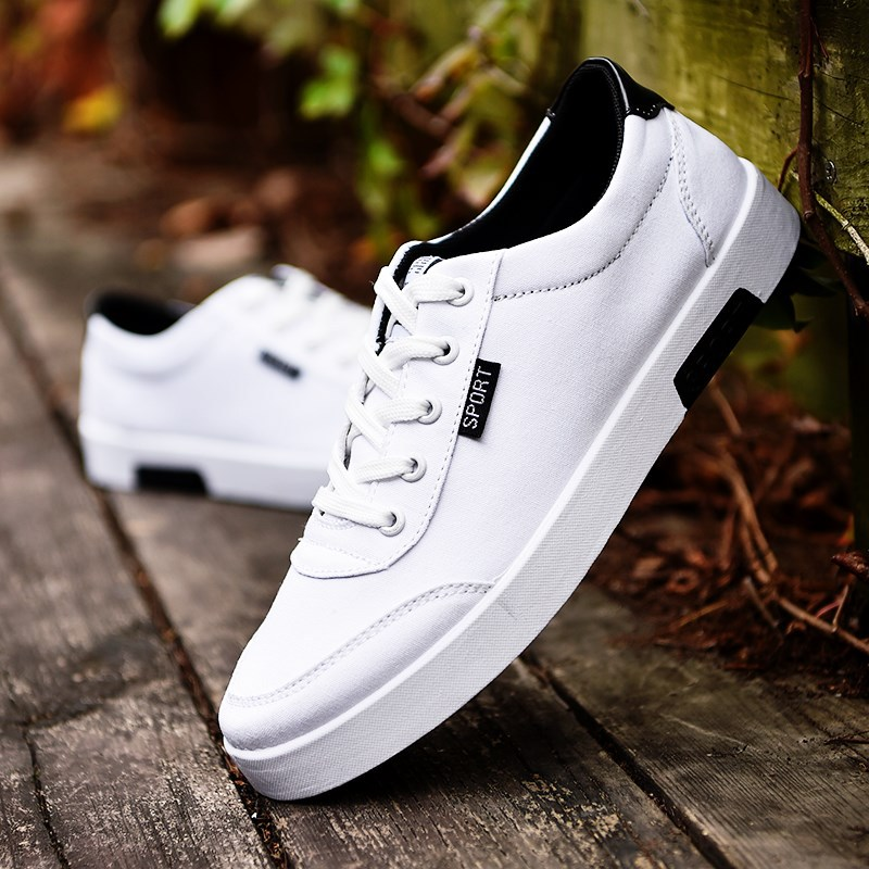 New Style Men Vulcanized Shoes 2019