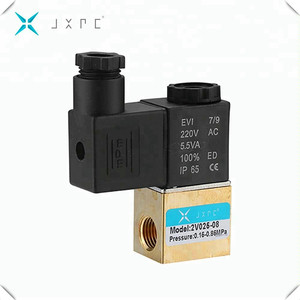 Direct Drive Type 2 Way Fast Acting Ac Water Solenoid Valve