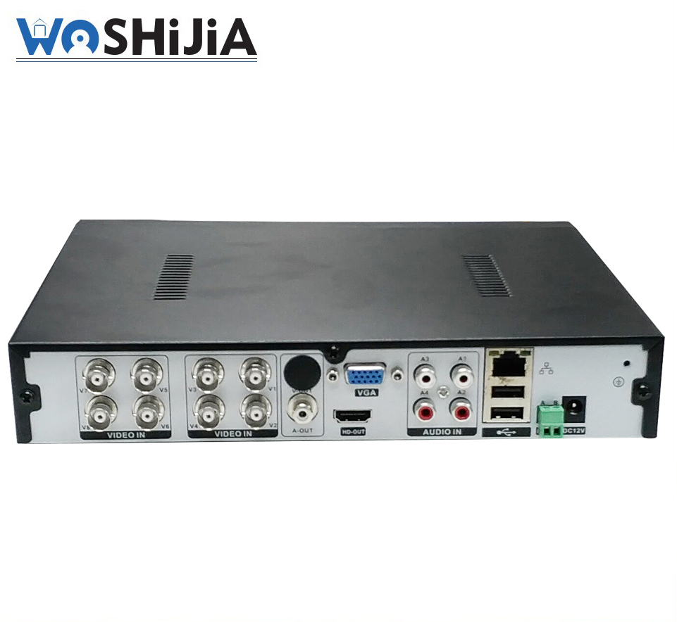 CCTV Security System Digital Video Recorder H.264 Real Time Recorder Rohs H264 8CH DVR