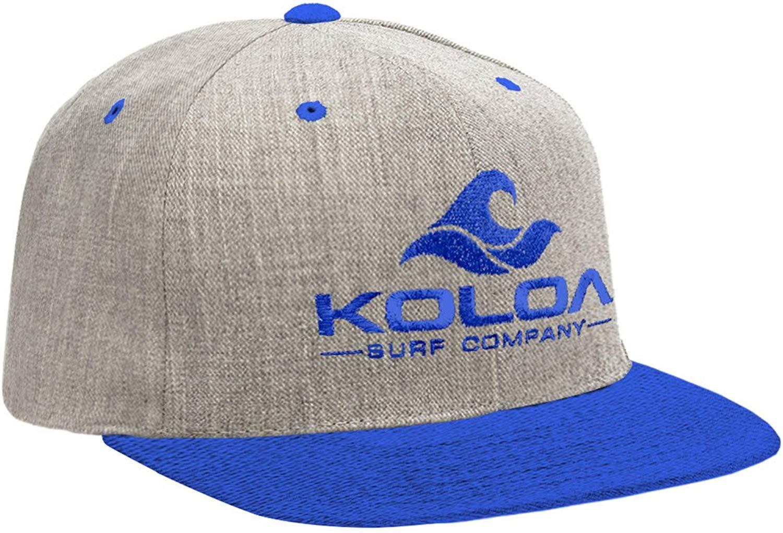 Joe s USA Koloa Surf Classic Snapback Hats with Embroidered Logo in 16  Colors df9a44fef338