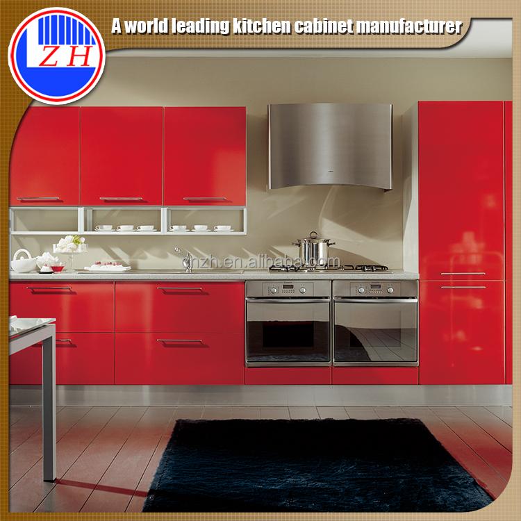 Best Prices Kitchen Cabinets: Best Price Red Color Kitchen Cabinet Kitchen Furniture