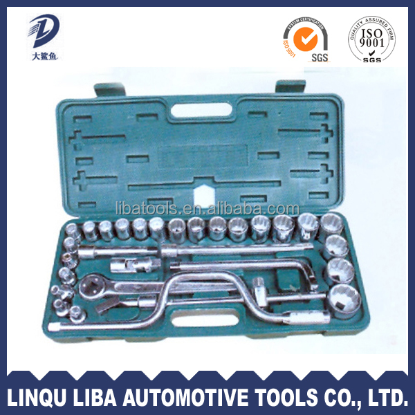 32 pieces china factory direct sale box spanner socket set