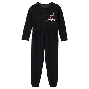 Winter And Fall One Piece Jumpsuit 95% Cotton Fancy Girls Jumpsuit For 2 to 8 years old girls