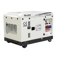 Hot Sale 10 KW Twin Cylinder three phase Silent Diesel Generator From China
