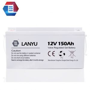 Factory direct price UPS and EPS battery lead acid gel mf 12v 150ah battery