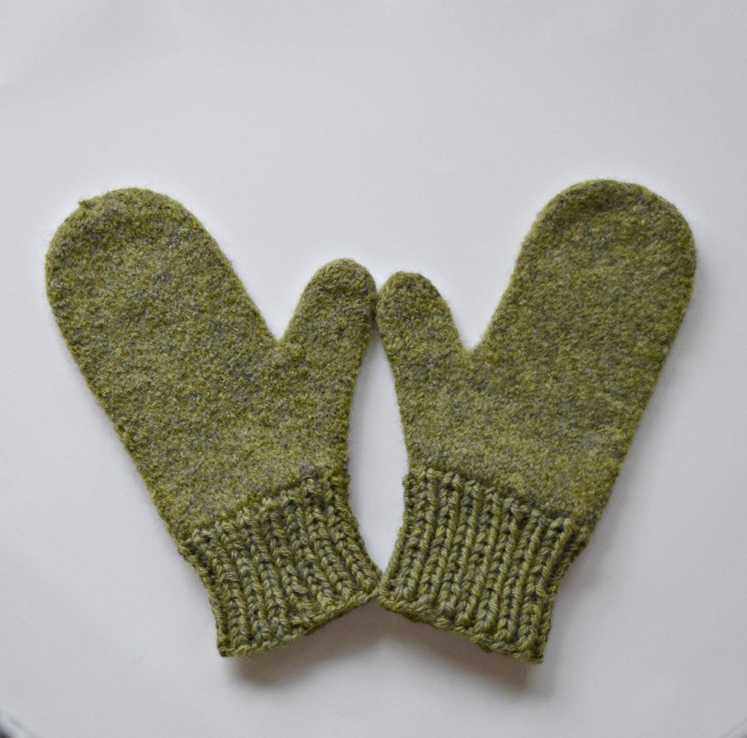 91b452b1d Clothing, Shoes & Accessories Childrens Womens Mens Mittens Hand Knit  Mittens Child Adult Boys Girls Ladies Teens Gloves Cream Gray ...