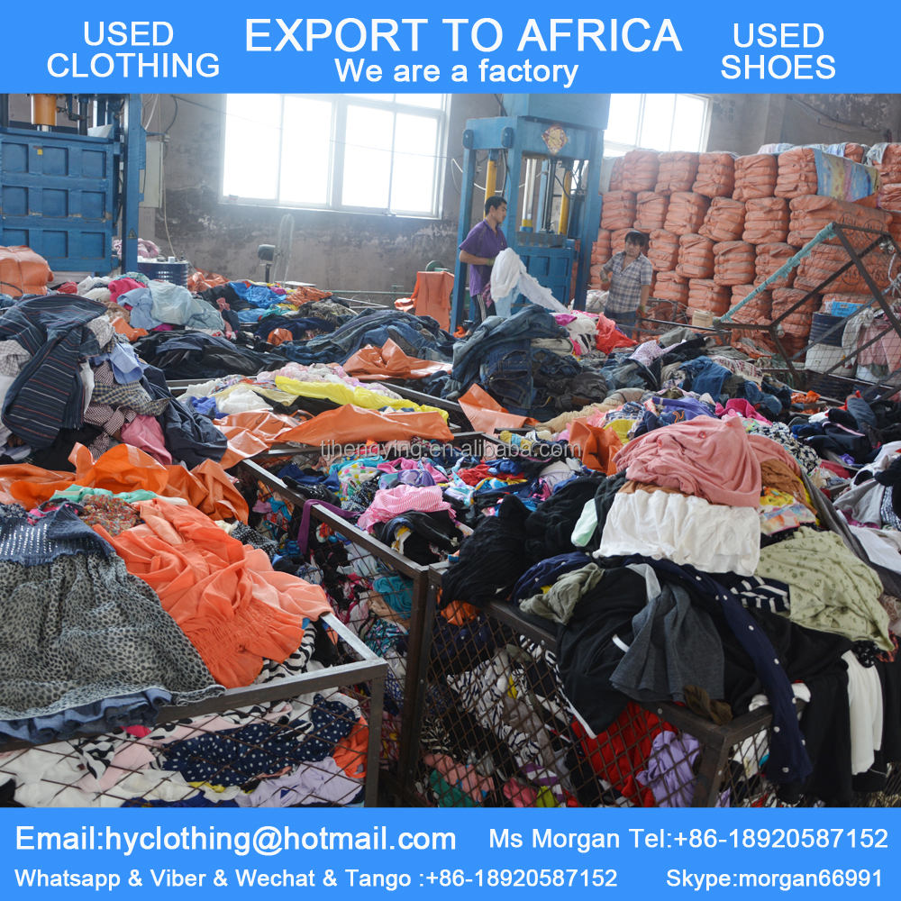 second hand clothes suppliers
