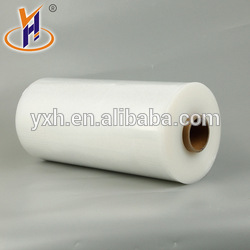 High density Wholesale classic 450mm 1500ft 17 mic plastic shrink/ wrap black stretch film/hand wrap for pallet packing