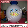 PVC/nylon Inflatable ground balloon, inflatable advertising product
