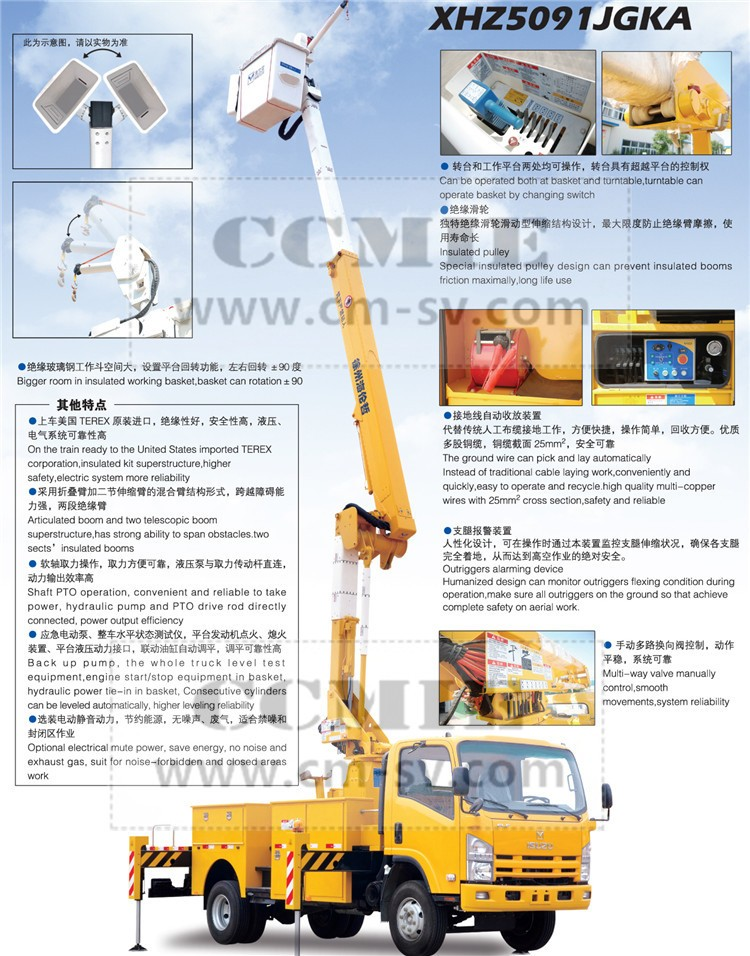 China 22m To 28m Aerial Working Platform Bucket Truck Articulated Boom  Trucks Lift For Sale - Buy Boom Lift Truck,Aerial Work Platform  Truck,Bucket