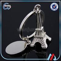 Tourist Souvenir Metal Eiffel Tower Keychains for souvenir