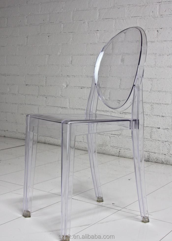 2015 Manufacturer Colored Acrylic Dining Chair