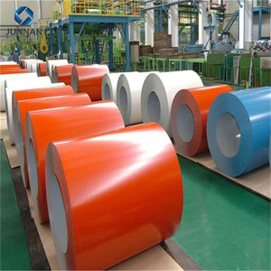 PPGI/PPGL color coated galvanized corrugated metal roofing sheet in coil