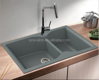 Customized Size Quartz Stone Philippines Portable Kitchen Sinks
