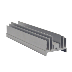 High quality extruded factory supply hot sale heat sink extruded aluminum
