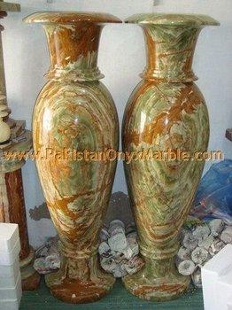 Dark Green Onyx Marble Flower Vases Buy Polished Dark Green Onyx Flower Vases