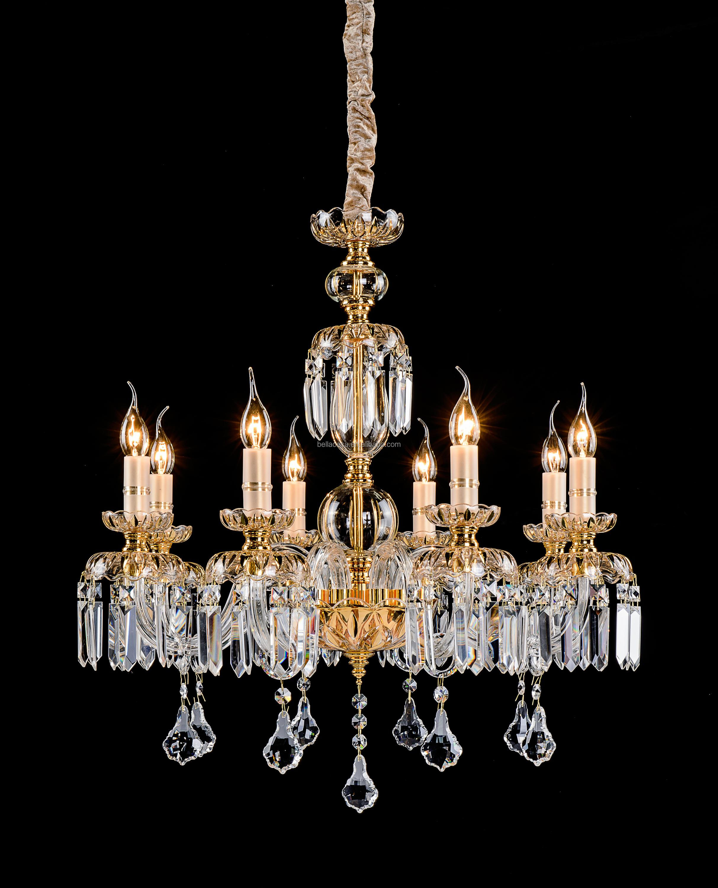 China Real Crystal Chandelier China Real Crystal Chandelier