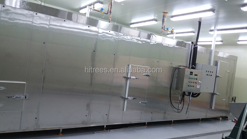 Fluidized Bed IQF Tunnel Freezer