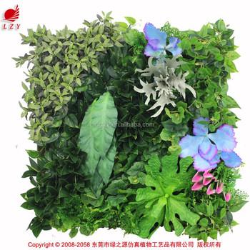plastic garden design artificial indoor plant walls