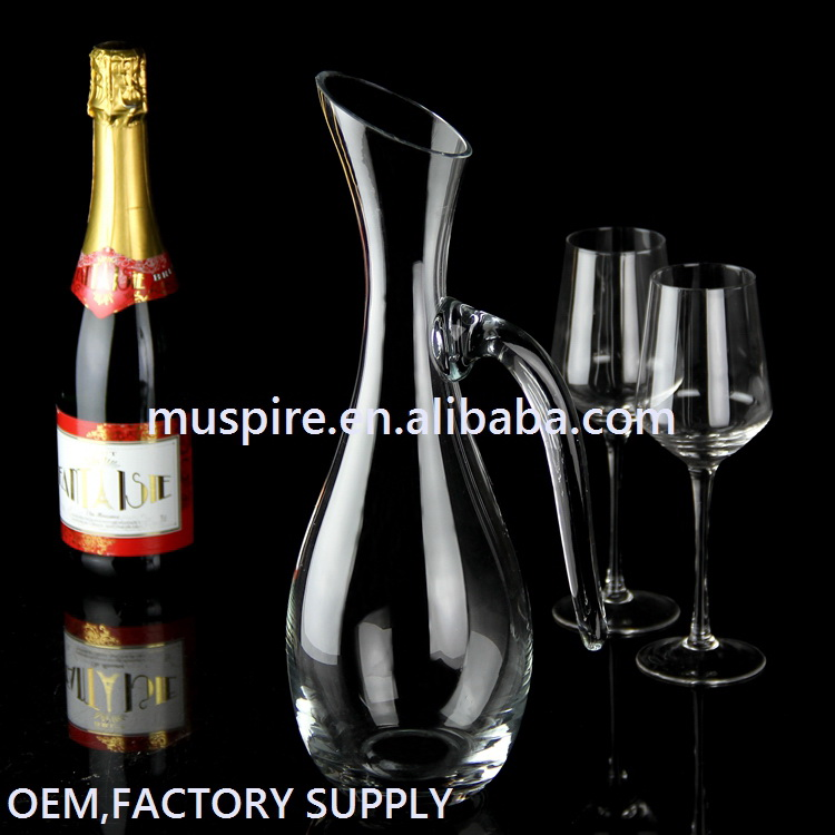 China-made hot-sale cold cuts glass decanter glassware