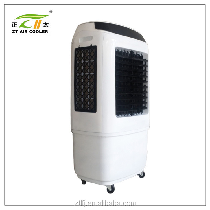 Energy-saving portable desert cooler of 4500cmh airflow with LED and remote control