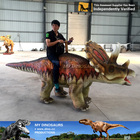 MY Dino AR-021 Amusement Park Rides Electrical Mobile Animal Walking Funny Dinosaur Ride Toy