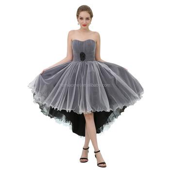 Long Back Evening Dress