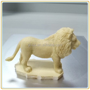 Small resin animal crafts lion figurine