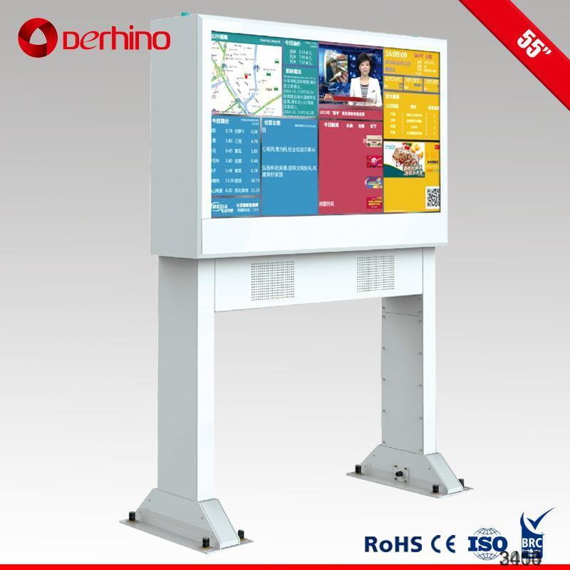 new lcd monitor portable digital signage